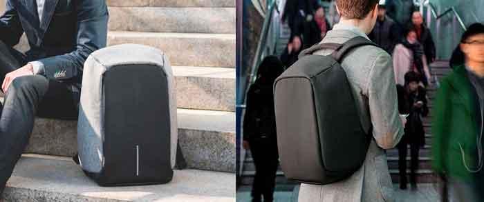 Como usar una mochila antirrobo Bobby Original
