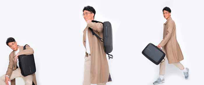 Formas de usar una mochila antirrobo Bobby Bizz