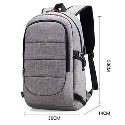 Caracteristicas de la mochila antirrobo tzz combinación