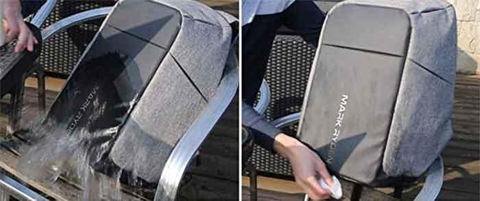 Prueba de impermeabilidad y limpieza de la Mark Ryder MR 5815